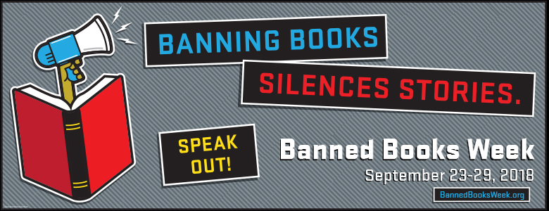 Banned Books Week is an annual event celebrating the freedom to read. It  highlights the value of free and open access to information 14f4f91443866