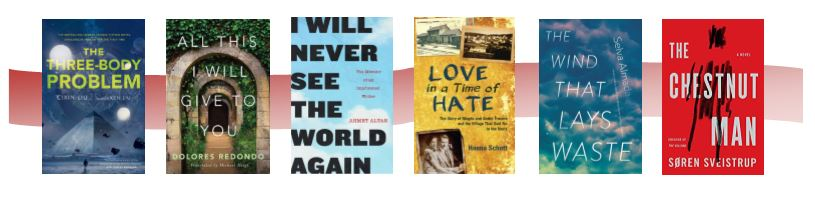 Banner of six book covers from this list